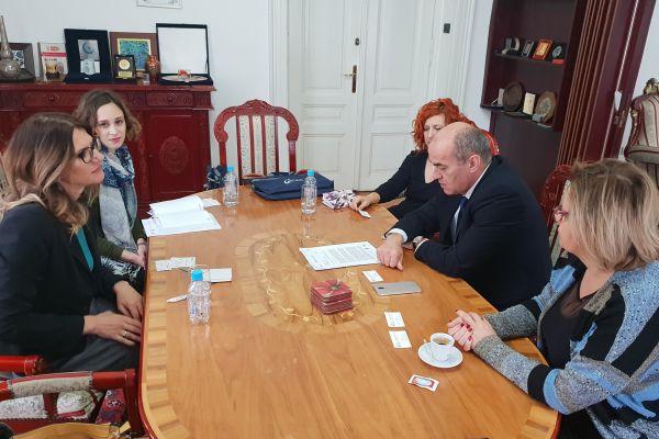 Razgovor sa rektorom Univerziteta u Sarajevu o inkorporiranju Platforme za mir u obrazovni sistem