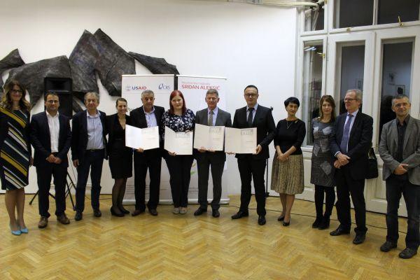Dan ljudskih prava: Dodjela Novinarske nagrade Srđan Aleksić i Mirovne nagrade