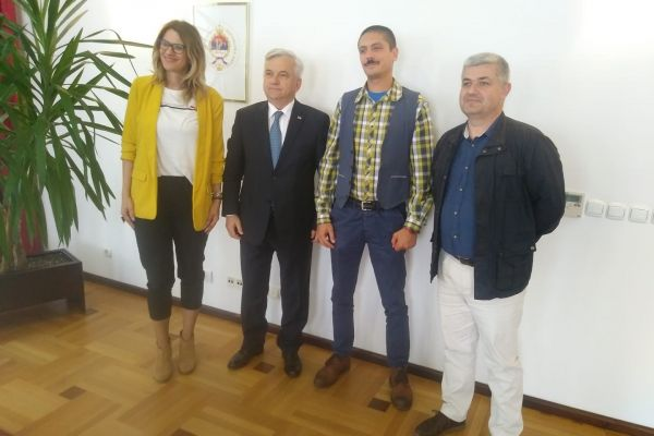 Posjeta predsjedniku NSRS i načelnicima Foče i Višegrada