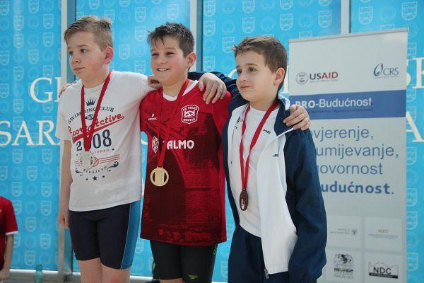 """""""SARAJEVU S LJUBAVLJU"""": Više od 400 mladih iz 11 zemalja na velikom plivačkom mitingu, isplivane norme za velika evropska i svjetska takmičenja i Olimpijske igre mladih u Buenos Airesu"""