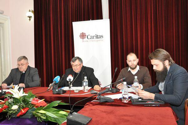 """Press Caritasa BiH: """"PRO-Budućnost je najveći mirovni projekt na Balkanu"""""""