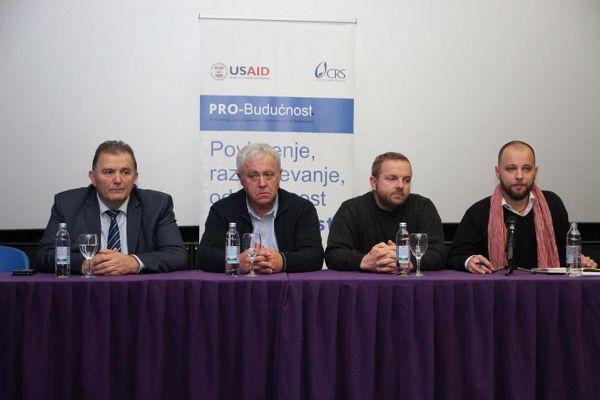 """Zijad, Krešo i Goran mladima Prijedora: """"Živite bez mržnje i nastavite pravim putem, ne dozvolite nikome da upropasti vaš život i zavadi vas s prijateljima"""""""