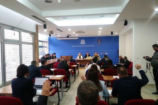 Skupština ŽZH usvojila Platformu za mir: Svako normalan želi živjeti u miru