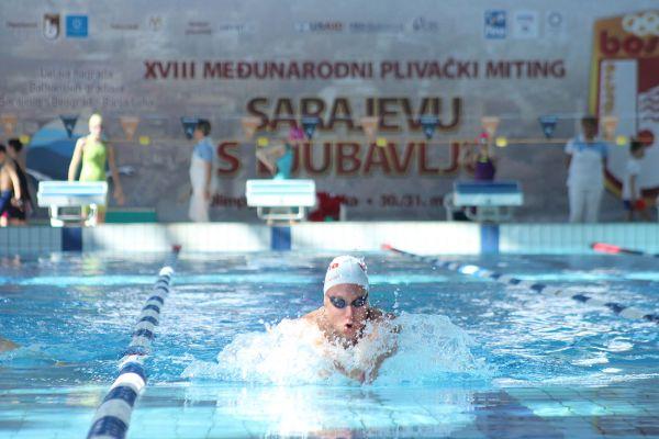 """""""Sarajevu s ljubavlju"""": Plivanje povezalo stotine mladih iz cijelog svijeta"""