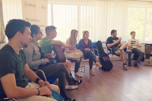Rok u miru: Mladi Srebrenice i Bratunca snimaju pjesmu