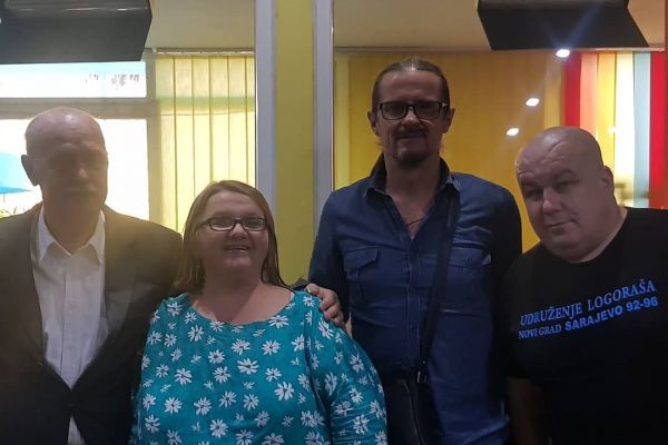 Amir, Janko i Zlatko na radiju Otvorena mreža: Žrtve rata zajednički traže svoja prava