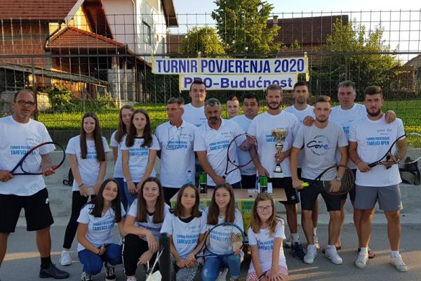 Tenis povezao sportiste iz Tarevaca, Odžaka i Modriče