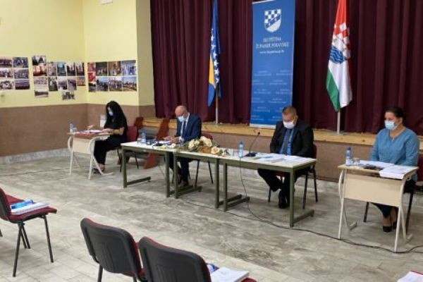 Skupština Posavskog kantona/županije usvojila Platformu za mir